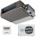 Канальные кондиционеры позволяют максимально скрыть систему кондиционирования за интерьером помещения.