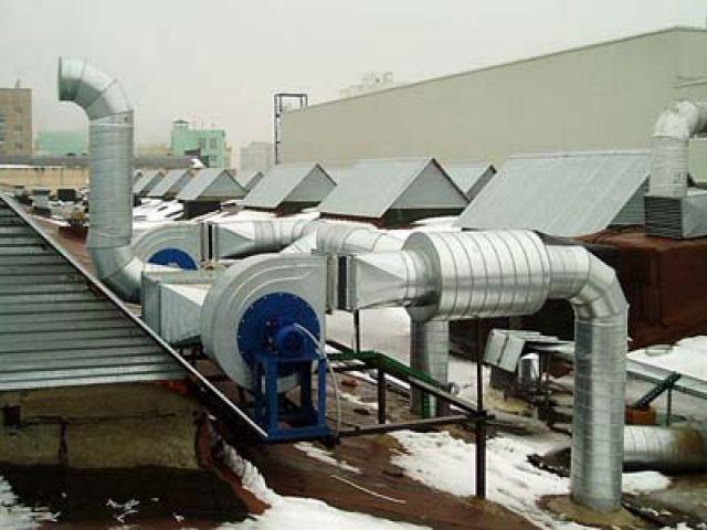 Вентиляция обеспечивает санитарно-гигиенические условия (температуру, относительную влажность, скорость движения...